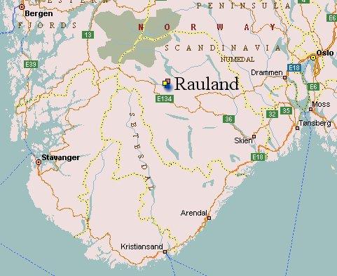 kart rauland Velkommen til Djuvland Fjellgard! – Djuvland Fjellgard kart rauland
